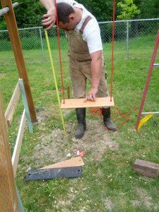 DIY Swingset