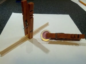 Clothespin Clamps