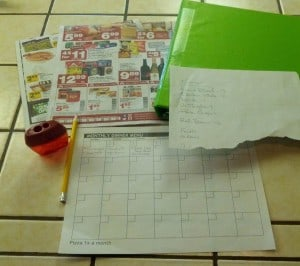Setting up for Meal Planning