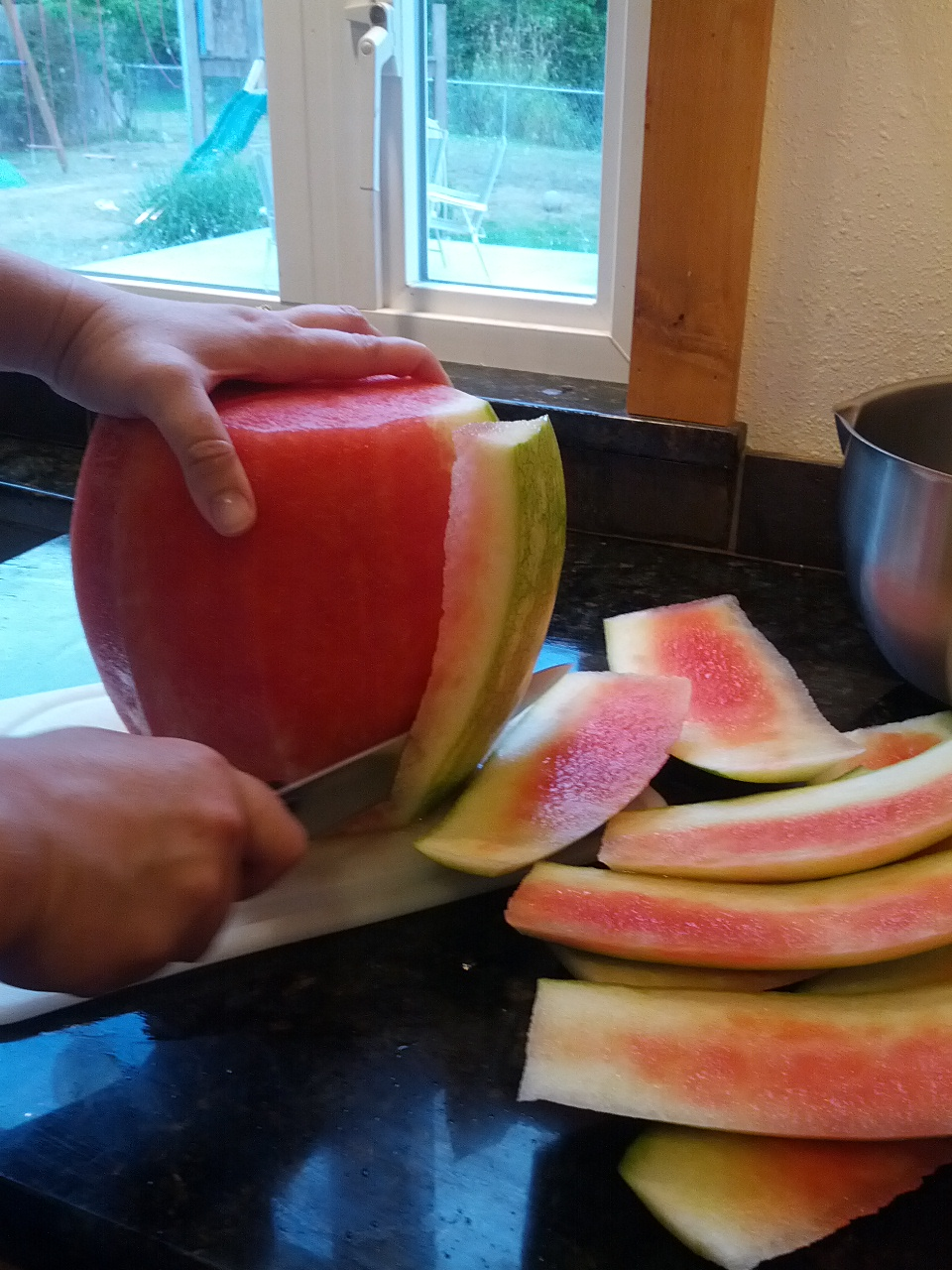 How to Peel Watermelon
