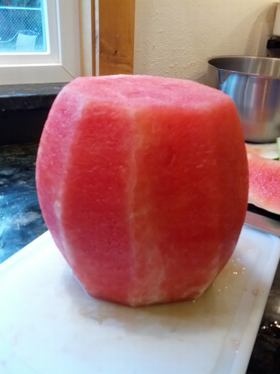 Peeled Watermelon.