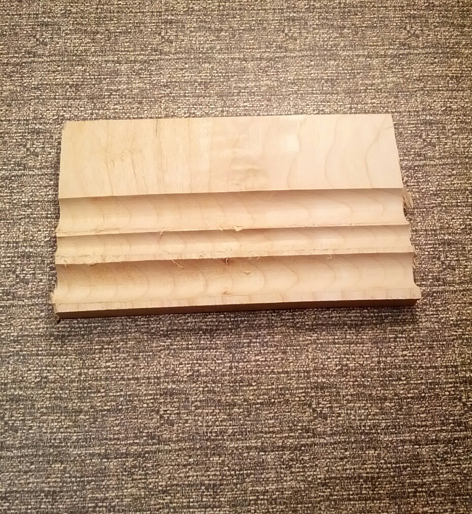 Grooves for Clothespin