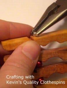 Adding crimp bead cover