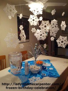 Frozen themed party