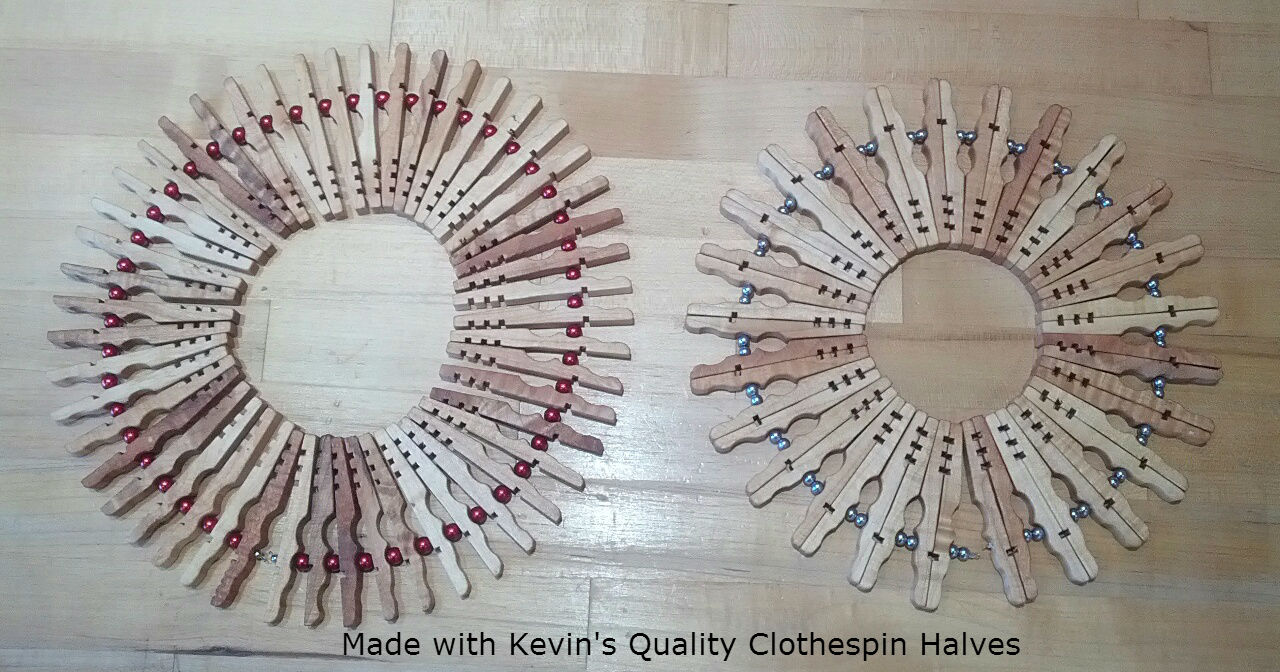 Clothespin snowflake for Mini clothespin craft ideas