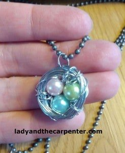 Bird Nest Necklace main
