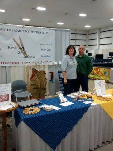Lady and the Carpenter booth at Mother Earth News Fair