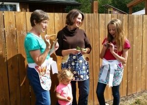 Cottage Business Highlight: Waist Aprons