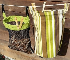 Clothespin Bags