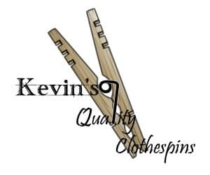 Kevin's Quality Clothespin Logo