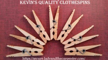 Kevin's Quality Clothespins