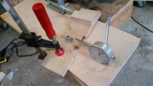 Micrometer measuring gears