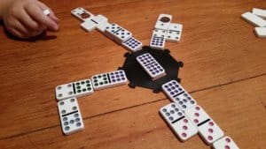 Domino Game Mexican Train