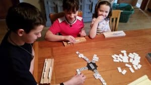 Mex Train Dominoes