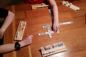 Spinners Dominoes Game