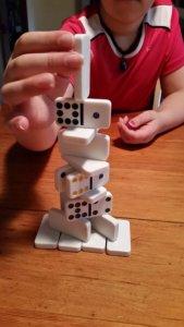 Domino Game Stack 'em