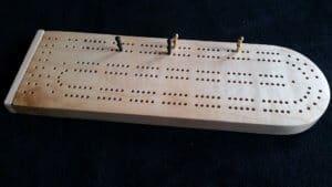 Wooden Cribbage Board